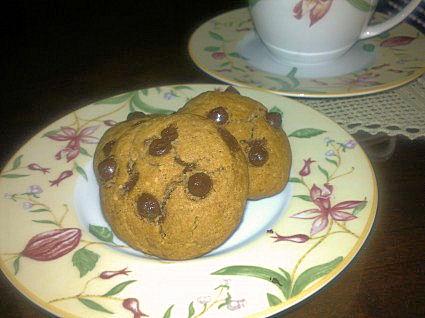 Μπισκότα σοκολάτας νηστίσιμα