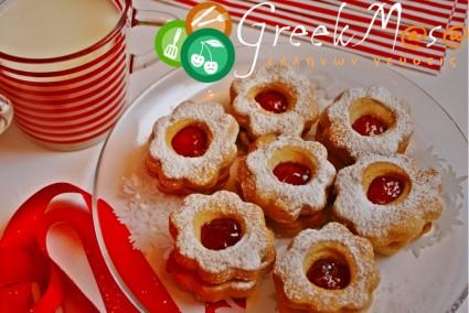 Μπισκότα τα τέλεια (με ανθόνερο)