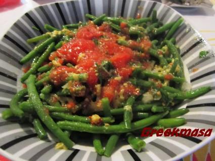 Πράσινα φασολάκια σαλάτα