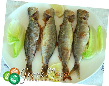 Ψάρια στο  φούρνο.. σαν τηγανιτά