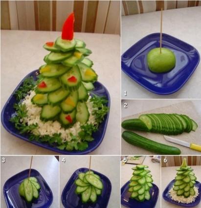 Εορταστικές σαλάτες για τα Χριστούγεννα