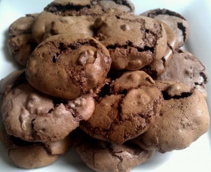 Μπισκότα μαρέγκας σοκολάτας