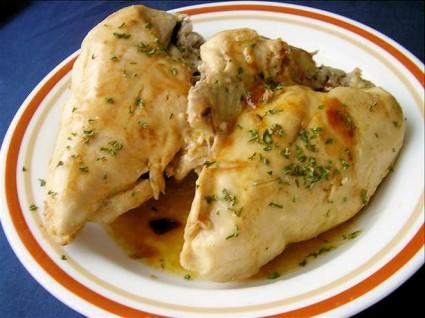 Ψητό κοτόπουλο με μέλι
